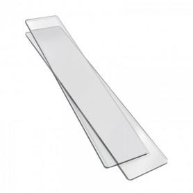 Plaque de découpe pour Sizzlits Deco 1 paire – 6,5x33cm - Sizzix
