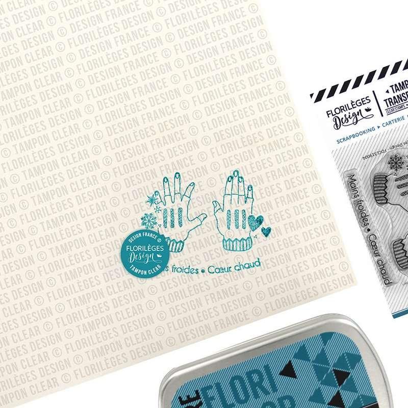 Tampons Mains froides - collection Les joies de l'hiver - Florilèges Design