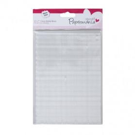 Bloc Tampon Transparent 12,7x17,8 cm - Papermania