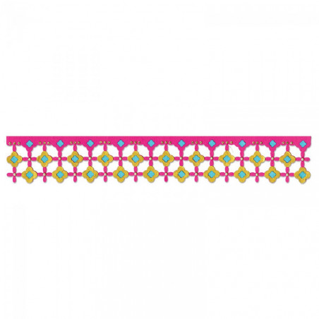 Sizzlits Decorative Strip Die Marrakesh Title – Sizzix