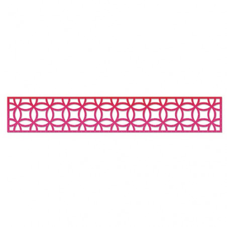 Sizzlits Decorative Strip Die Interlocking Circles – Sizzix