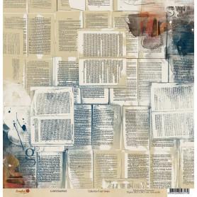 Papier 30x30 Il est temps 5 - 1 feuille - Lorelaï Design