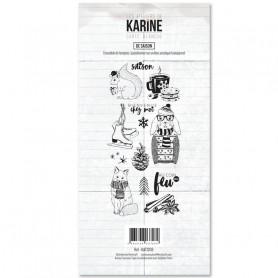 Tampons De saison - Carte Blanche - Les ateliers de Karine