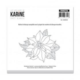 Die Poinsettia 1pc - Les Ateliers de Karine