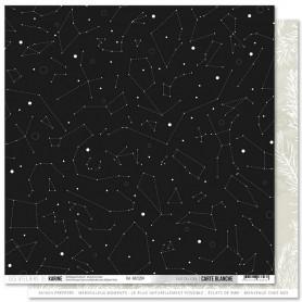 Papier 30x30 Vue du ciel 1f - Carte Blanche - Les ateliers de Karine