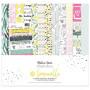 Set de papier 30x30 Limoncello 6f et 1 planche de stickers - Béatrice Garni illustration