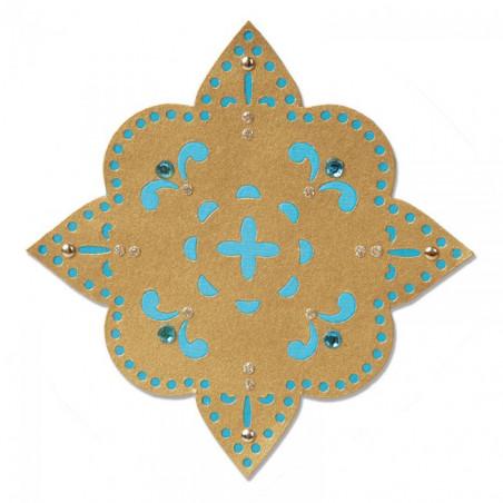 Sizzlits Die Flower Moroccan Star – Sizzix