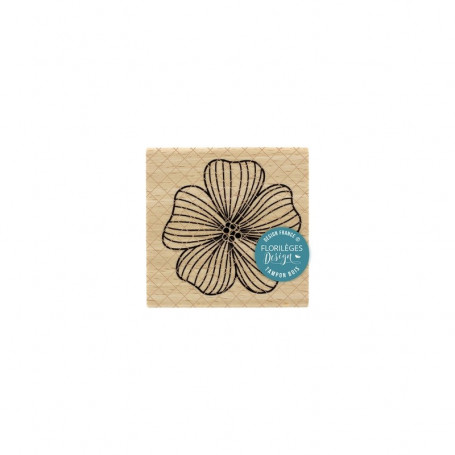 Tampon Anémone - Miss Charleston - Florilèges Design