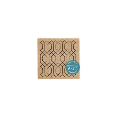 Tampon Art déco - Miss Charleston - Florilèges Design
