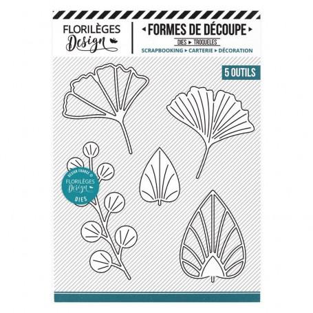 Dies Feuillages déco 5 pc - Miss Charleston - Florilèges Design