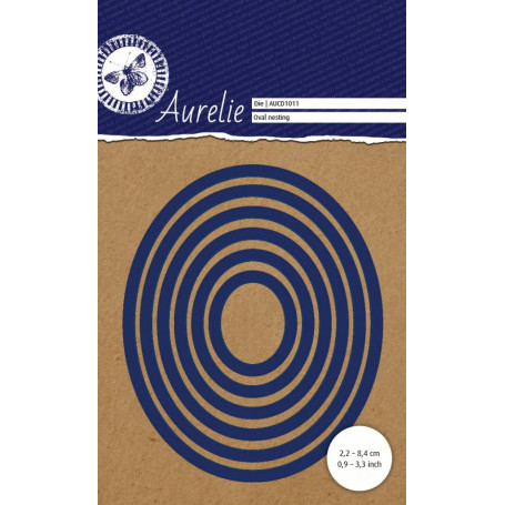 Dies Set de 6 Ovales  – Oval Nesting Aurelie