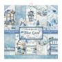 Set de papier 30x30 Blue Land 10 feuilles - Stamperia