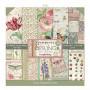 Set de papier 30x30 Spring Botanic 10 feuilles - Stamperia