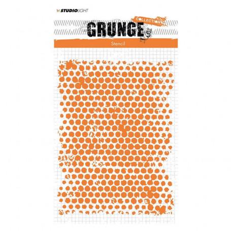 Pochoir Grunge collection 13 A5 – Studio Light Mask Stencil