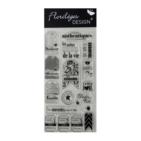 Tampons Leçon de vie – Florilèges Design