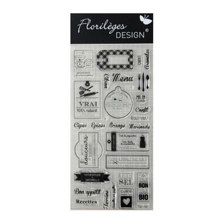 Tampons Bon appétit – Florilèges Design