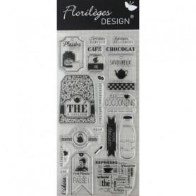 Tampons Pause Thé & Café – Florilèges Design