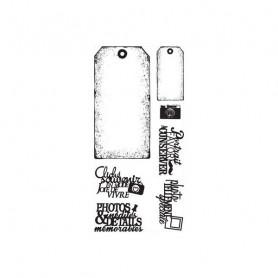 Tampons Tags basiques – Florilèges Design