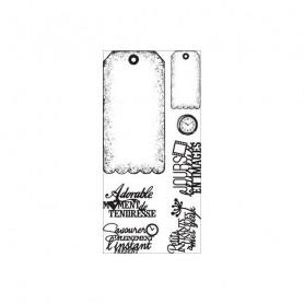 Tampons Tags à festons – Florilèges Design