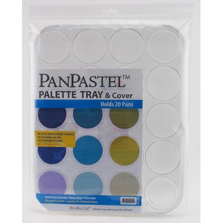 Palette pour 20 couleurs Panpastel – palette tray