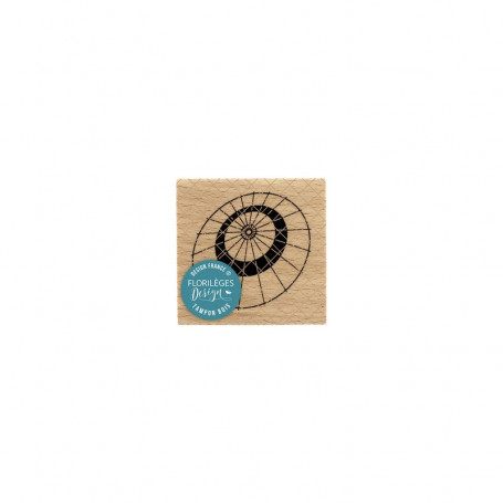 Tampon bois Ombrelle - Sakura - Florilèges Design
