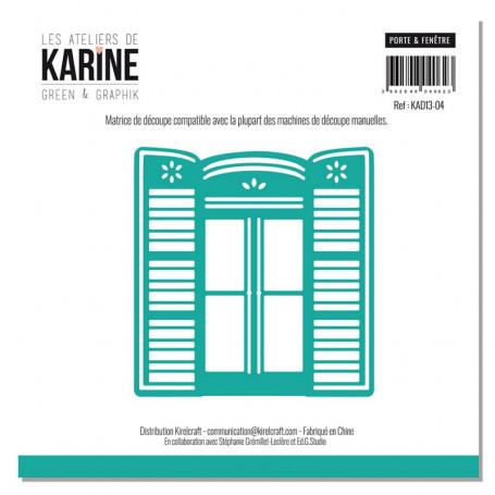 Die Porte & Fenêtre 1pc - Les Ateliers de Karine