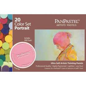 PanPastel Portrait Set 20 couleurs - 30203