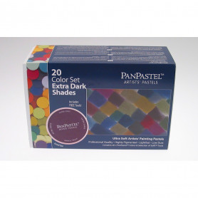 PanPastel Extra Darks Set 20 couleurs - 30207
