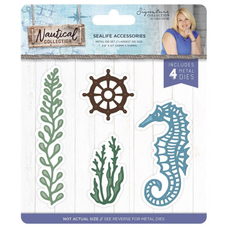 Dies Fleurs Sealife Nautical 4pc - Crafter's Companion