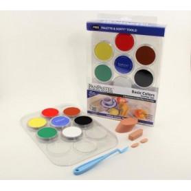 PanPastel Basic kit de 7 couleurs avec palette - 30071