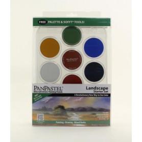 PanPastel Landscape Starter kit de 7 couleurs avec palette - 30