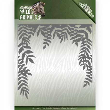 Die African Jungle Frame 1 pièce - Wild Animals 2 - Amy Design
