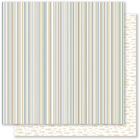 Papier 30x30 Embruns 4 1feuille - Mes Ptits Ciseaux