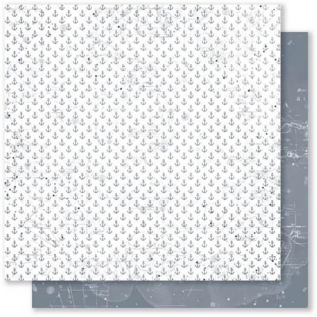 Papier 30x30 Embruns 5 1feuille - Mes Ptits Ciseaux