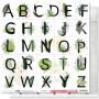 Papier 30x30 A comme Aventure 1f - Collection Long Courrier - Les ateliers de Karine