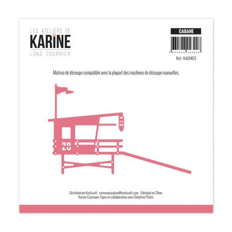 Die Cabane 1pc - Long Courrier - Les Ateliers de Karine