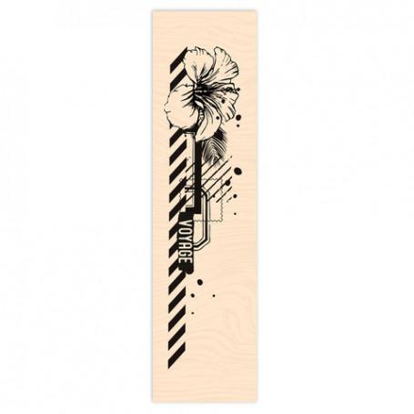 Tampon bois Air Mail - Collection Long Courrier -Les Ateliers de Karine