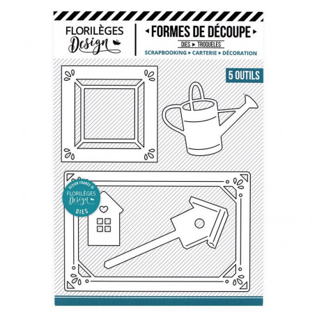 Dies Cadres Campagne 5 pc - La maison de Jeanne - Florilèges Design