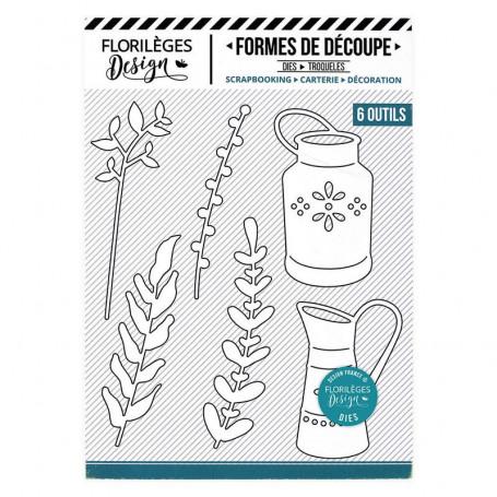 Dies Pots rustiques 6 pc - La maison de Jeanne - Florilèges Design