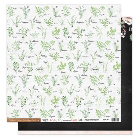 Papier 30x30 La maison de Jeanne n° 3 1f - Florilèges Design