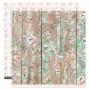 Papier 30x30 La maison de Jeanne n° 6 1f - Florilèges Design