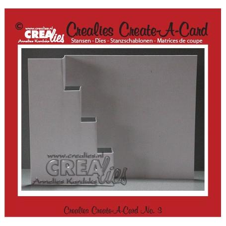 Die Create A Card no 3 - Crealies