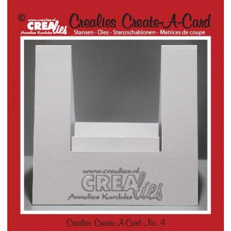 Die Create A Card no 4 - Crealies
