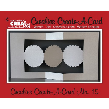 Die Create A Card no 15 - Crealies