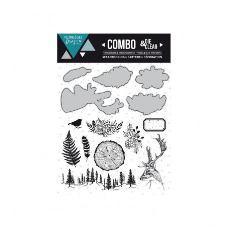 Combo Clear Die Into the Woods - Florilèges Design