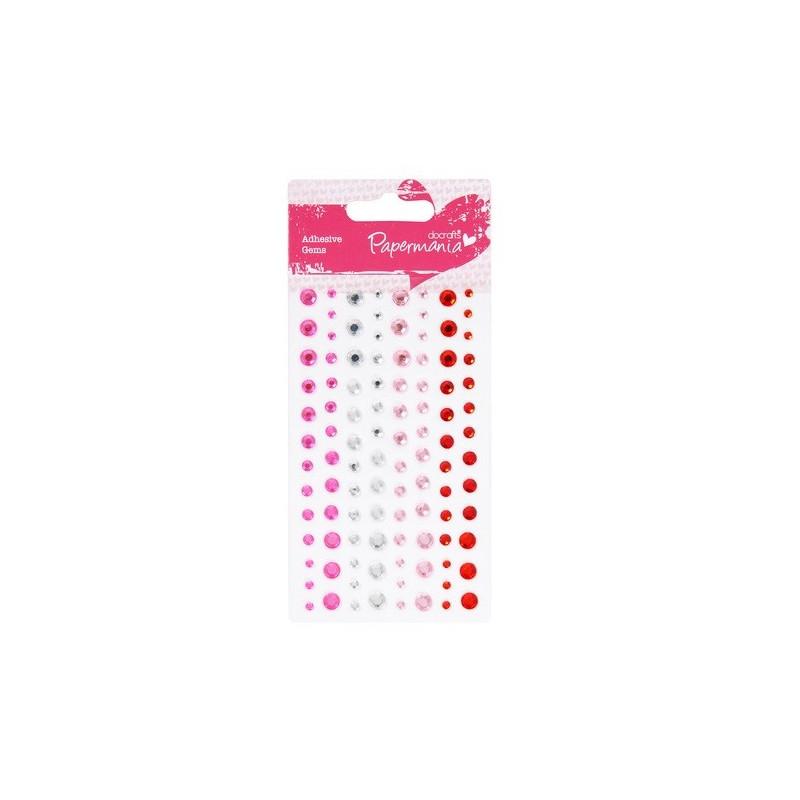 Perles Adhésives Capsule Red Hot - Papermania