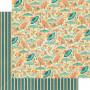 Papier 30x30 Parasol Bouquet 1 feuille - Graphic 45
