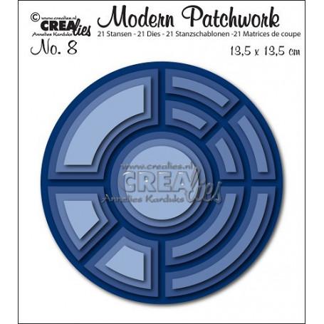 Dies Modern Patchwork Set 8  - Crealies