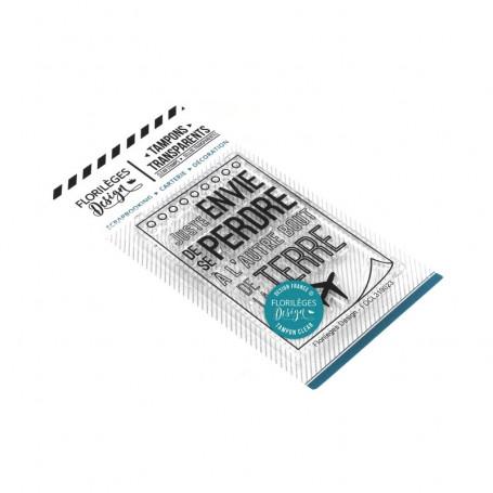 Tampon Se perdre - Globe Trotter - Florilèges Design