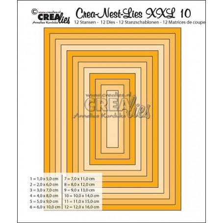 Dies Crea-Nest-Lies 10 XXL - Crealies